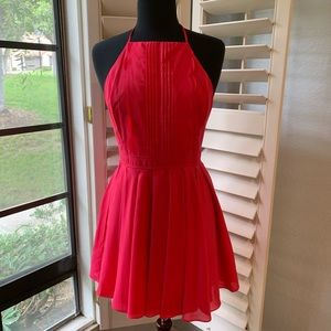 DOUBLE ZERO Hot Pink Dress